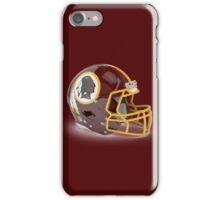 Redskins Helmet iPhone Case/Skin