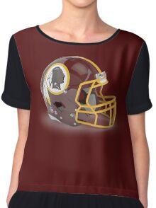 Redskins Helmet Chiffon Top