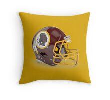 Redskins Helmet Throw Pillow