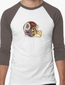 Redskins Helmet Men's Baseball ¾ T-Shirt