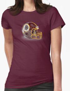Redskins Helmet Womens Fitted T-Shirt