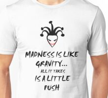 Gravity (BLACK) Unisex T-Shirt