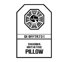 Dharma Pillow - Lost by robotplunger