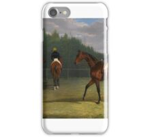 John Frederick Herring (Senior practice iPhone Case/Skin