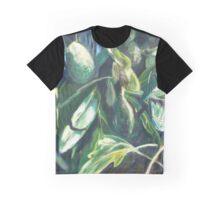 Avocado Lights (acrylic) Graphic T-Shirt