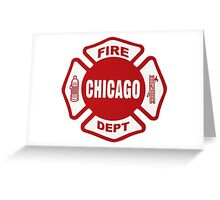 Chicago Fire Greeting Card