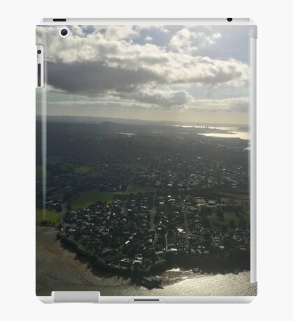 New Zealand - Approaching Auckland iPad Case/Skin