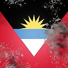 Flag of Antigua and Barbuda by Confundo