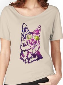 Galaxy dog Women's Relaxed Fit T-Shirt
