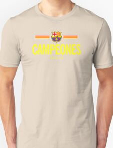 Barcelona Campeones T-Shirt