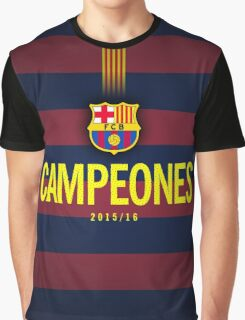 Barcelona Campeones Graphic T-Shirt
