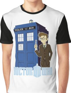 Dr Who Animated (no background) Graphic T-Shirt