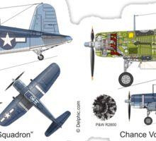 Pappy Boyington's F4U Corsair Sticker
