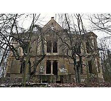 Abandoned german villa Photographic Print