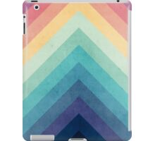 Retro Chevrons 002 iPad Case/Skin