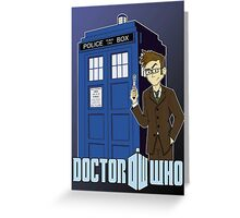 Doctor Who Animated Greeting Card