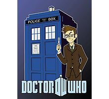 Doctor Who Animated Photographic Print
