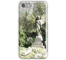 Angel in stone iPhone Case/Skin