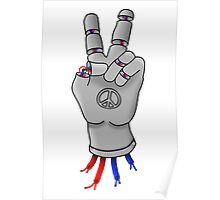 Robot Peace Poster