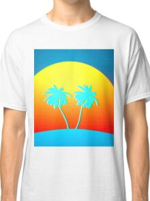 Psychedelic Palms Classic T-Shirt