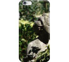 Lady in stone. iPhone Case/Skin