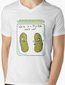 We're in a Pickle Mens V-Neck T-Shirt