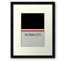 Intercity Framed Print