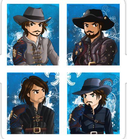 The Musketeers season 3 Sticker