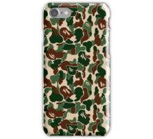 bape army iPhone Case/Skin