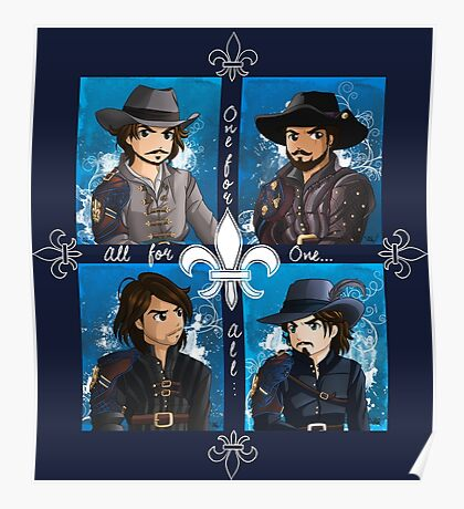The Musketeers season 3 Poster