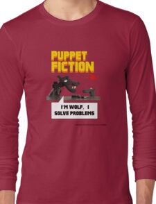 PUPPET FICTION - PUPAZZO CRIMINALE Long Sleeve T-Shirt