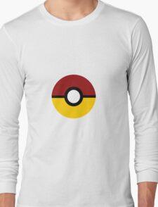 Gryffindor Pokeball (Gryffinball?) Long Sleeve T-Shirt