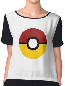 Gryffindor Pokeball (Gryffinball?) Chiffon Top