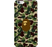 army bape brown iPhone Case/Skin