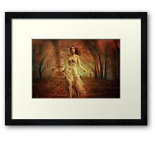 Autumn Winds Framed Print