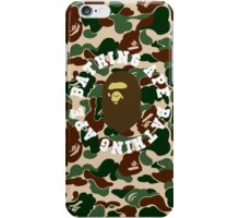 abape round iPhone Case/Skin