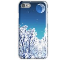 White Woods Snow iPhone Case/Skin