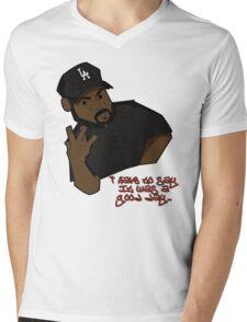 Ice Cube Mens V-Neck T-Shirt