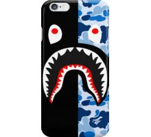 shark black blue iPhone Case/Skin