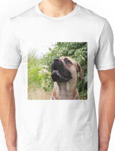 portrait of big dog Unisex T-Shirt