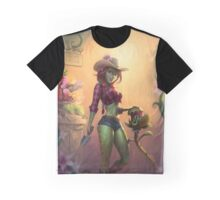 Pam's Flowers Graphic T-Shirt