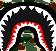 shark army Sticker