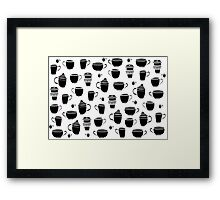 more coffee Framed Print