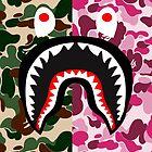 shark army red by mayman