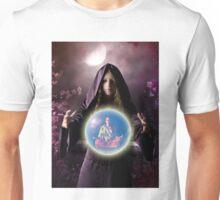 fantastic portrait of young girl Unisex T-Shirt