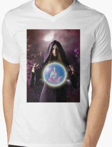 fantastic portrait of young girl Mens V-Neck T-Shirt