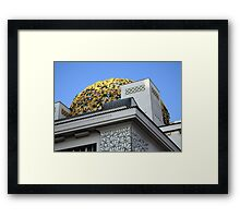 Secession Building Vienna Framed Print