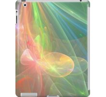 Floral Rainbow - Space iPad Case/Skin