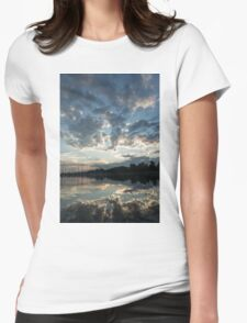 Sky Glory Womens Fitted T-Shirt