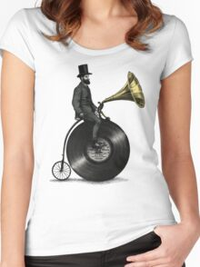 Music Man (color option) Women's Fitted Scoop T-Shirt